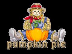 pumpkin pie - AutumnScarecrowSitting