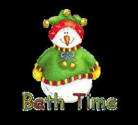 Bath Time - ChristmasJugler