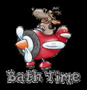 Bath Time - DogFlyingPlane