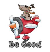 Be Good - DogFlyingPlane