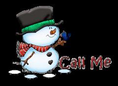 Call Me - Snowman&Bird