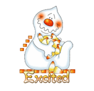 Excited - CandyCornGhost