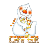 Let's talk - CandyCornGhost