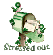 Stressed out - StPatrickMailbox16