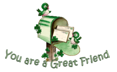 You are a Great Friend - StPatrickMailbox16