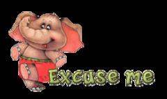 Excuse me - CuteElephant