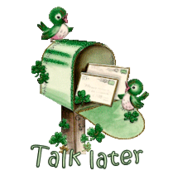 Talk later - StPatrickMailbox16