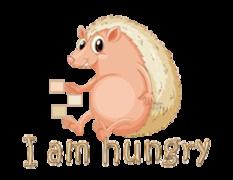 I am hungry - CutePorcupine