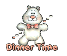 Dinner Time - HuggingKitten NL16