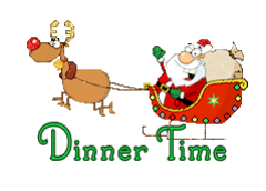 Dinner Time - SantaSleigh