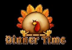 Dinner Time - ThanksgivingCuteTurkey