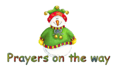 Prayers on the way - ChristmasJugler