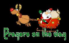 Prayers on the way - SantaSleigh