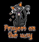 Prayers on the way - HalloweenKittySitting