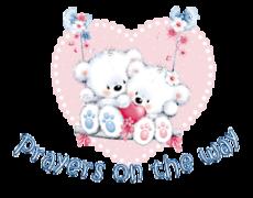 Prayers on the way - ValentineBearsCouple2016