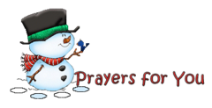 Prayers for You - Snowman&Bird