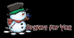 Prayers for You - Snowman&Bird