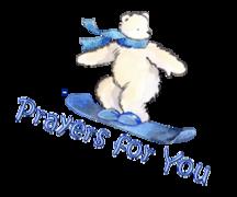 Prayers for You - SnowboardingPolarBear