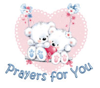 Prayers for You - ValentineBearsCouple2016