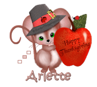 Arlette - ThanksgivingMouse