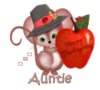 Auntie - ThanksgivingMouse