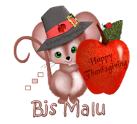 Bjs Malu - ThanksgivingMouse