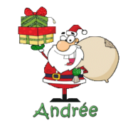 Andree (MC) - SantaDeliveringGifts