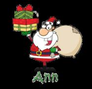 Ann - SantaDeliveringGifts