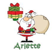 Arlette - SantaDeliveringGifts