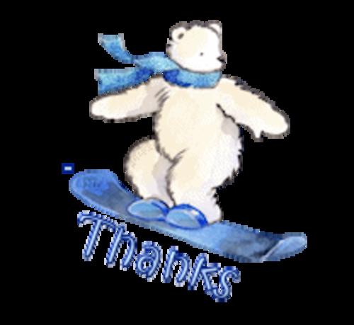 Thanks - SnowboardingPolarBear