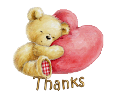 Thanks - ValentineBear2016