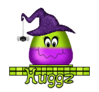 Huggz - CandyCornWitch