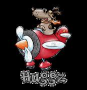 Huggz - DogFlyingPlane