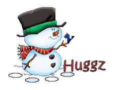 Huggz - Snowman&Bird