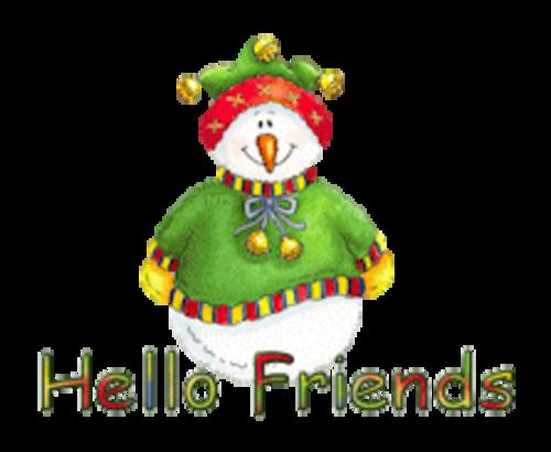 Hello Friends - ChristmasJugler