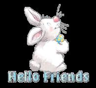 Hello Friends - HippityHoppityBunny