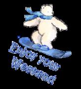 Enjoy your WE - SnowboardingPolarBear