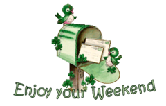 Enjoy your WE - StPatrickMailbox16
