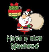 Have a nice WE - SantaDeliveringGifts