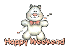 Happy Weekend - HuggingKitten NL16