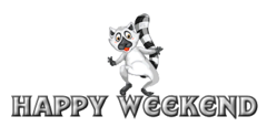 Happy Weekend - RaccoonStepOnName