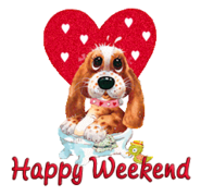 Happy Weekend - ValentinePup2016