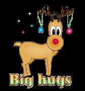 Big hugs - ChristmasReindeer