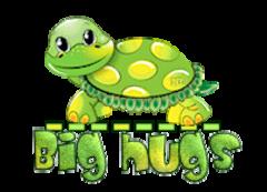 Big hugs - CuteTurtle