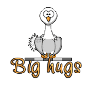 Big hugs - OstrichWithBlinkie