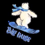 Big hugs - SnowboardingPolarBear