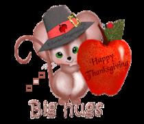 Big hugs - ThanksgivingMouse