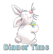 Dinner Time - HippityHoppityBunny