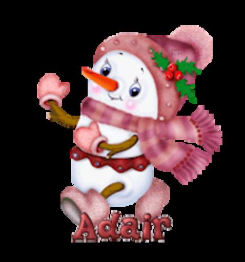 Adair - CuteSnowman