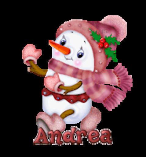 Andrea - CuteSnowman